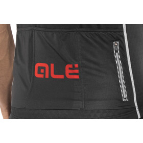 Alé Cycling Graphics PRR Strada Shortsleeve Jersey Herr black-red